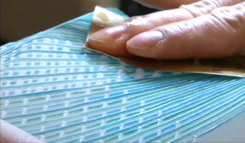 Ishida Glass Studio 制作工程 研磨して、仕上げます